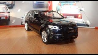 МАШИНКИ CARS.Видео Про Машинки. Автосалон Немецких Автомобилей  AUDI Q7