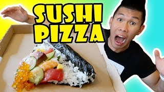 SUSHI PIZZA: DIY Tasty or Too Much? || Life After College: Ep. 579