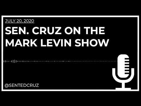 Cruz on The Mark Levin Show: Americans Have the Power to Decide the Future of Our Country