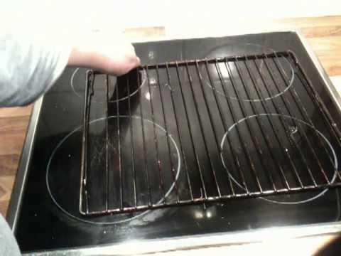 Backofengitter reinigen - Backofenrost putzen