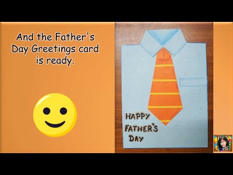 Diy greeting cards how to make fathers day card ideas tutorial diy fathres day greetings card diy fathers day cards gift ideas paper crafts m4hsunfo