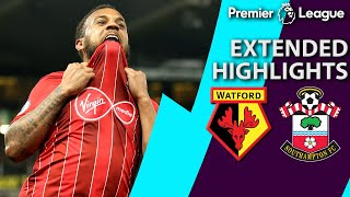 Watford v. Southampton   PREMIER LEAGUE EXTENDED HIGHLIGHTS   4/23/19   NBC Sports