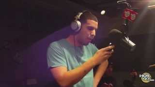 DRAKE FREESTYLE at HOT97