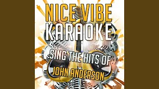 My Kind of Crazy (Karaoke Version) (Originally Performed By John Anderson)