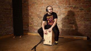 Modern Cajon Solo Drum & Bass Style von Daddi Bahmani