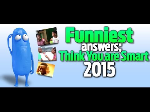 "PulseTV Presents: Funniest answers of ""Think You're Smart"" 2015"