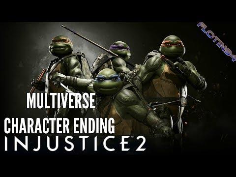 Injustice 2 | Teenage Mutant Ninja Turtles Character Ending | Multiverse Battle Simulator |CZ/SK|