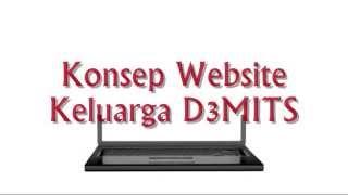 Konsep Website D3MITS