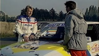1989 Autoglass Tour of Britain: Phillip Schofield with Derek Bell