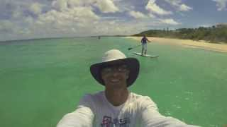 preview picture of video 'Anguilla Watersports - Anguilla SUP Stand Up Paddle Board Down Winders'