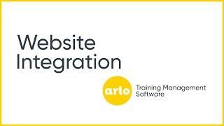 Arlo Training Software video
