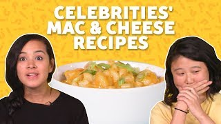 We Tried Celebrity Mac and Cheese Recipes   TASTE TEST