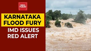 Karnataka Flood Fury: IMD Issues Red Alert In The 7 Districts, CM Releases Emergency Funds