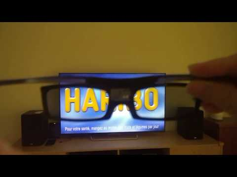 How to use 3D glass for Sony Bravia 3D TV - Cheap 3D Glass