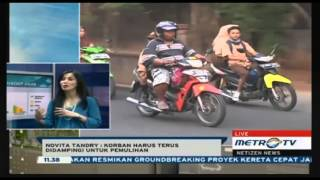 Novita Tandry on Metro TV  Netizen
