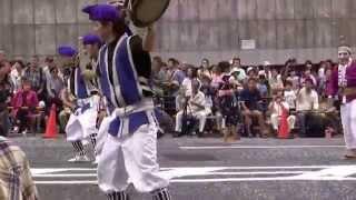 フェスタまちだ2015町田エイサー祭り_沖縄市南桃原青年会(9/13)