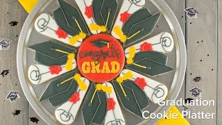 How To Make A Graduation Cookie Platter