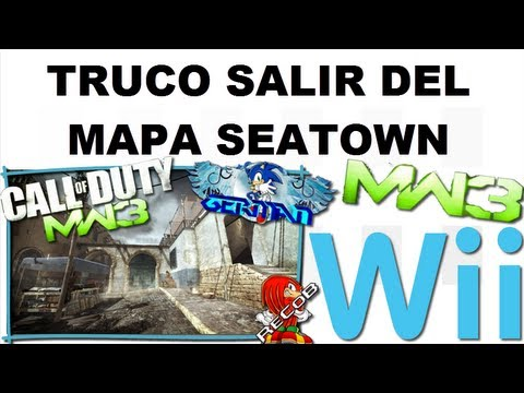 Truco MW3 Salir del Mapa Seatown WII - By German & ReCoB