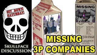 Missing Transformers Companies (Sit Down Saturday)