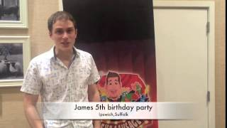 James 5th birthday party