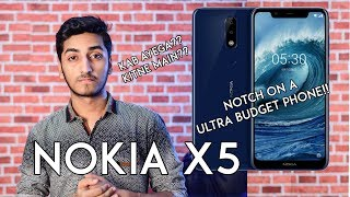 Nokia X5 (Nokia 5.1 Plus) - Price & Launch Date in India?? Specifications [Leaks]