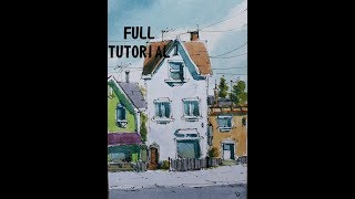 How To Draw And Paint Mini ACEO SKETCH CARD Full Tutorial.Nil Rocha