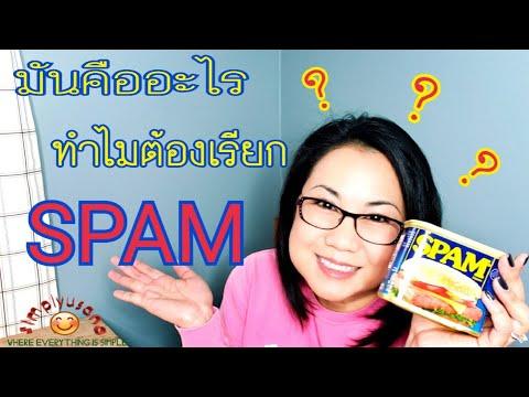 สแปม คืออะไร ทำไมต้องเรียก สแปม спам