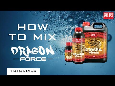 How to mix SHOGUN Dragon Force - Flushing Product