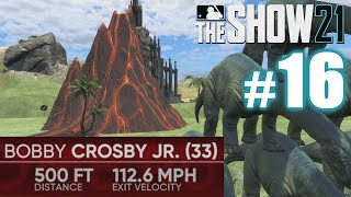 500-FOOT BOMB HITS VOLCANO! | MLB The Show 21 | Road to the Show #16