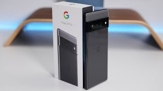 Google Pixel 6 Pro Unboxing and First Look