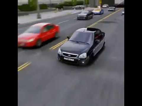  GTA 5  Приора Дрифт- Тачки Под Музыку #2