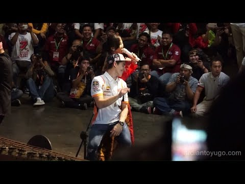 (Full Video) Marc Marquez Goyang Despacito Angklung Version...