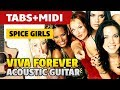 Spice Girls - Viva Forever (Guitar Cover with TABS)