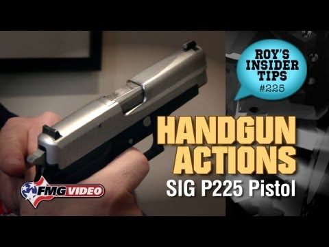 Handgun Action Part 2: Single & Double Action