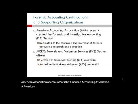 CH 1 LO5 Certifications for Forensic Accountants - YouTube