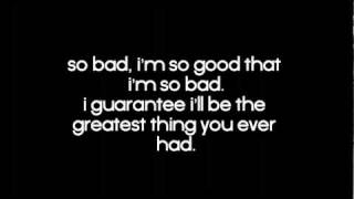 So Bad - Eminem Lyrics