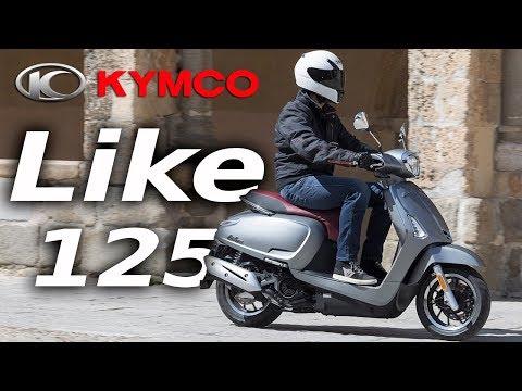 Kymco Like 125 2018: Prueba a fondo