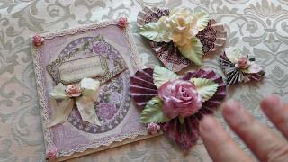 Heartfelt Creations Raindrops On Roses Card VR Ishascraftyside 5,000 Subscriber Giveaway