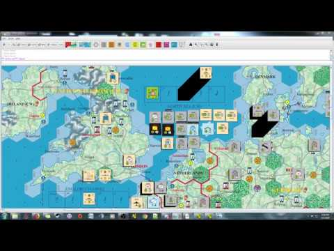 Fatal Alliances - Turn 1 Impulse 9 and 10 - John French Kicked Out of Europe