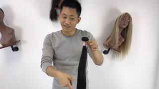 Best hair vendors only watch his hair video how to buy different virgin V remy hair for resell Top