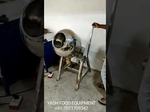 Flavouring and Coating Machine