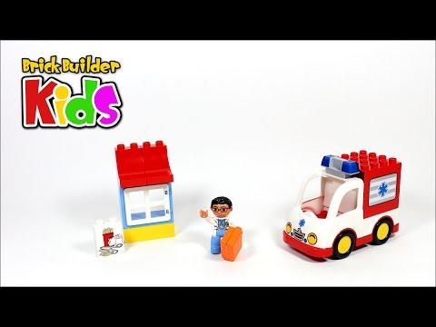 Vidéo LEGO Duplo 10527 : L'ambulance