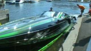 preview picture of video 'Poker Run 1000 Islands Kingston Ontario August 2007 weekend'