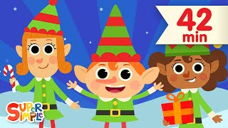 Five Little Elves | + More Christmas Songs for Kids | Super Simple Songs
