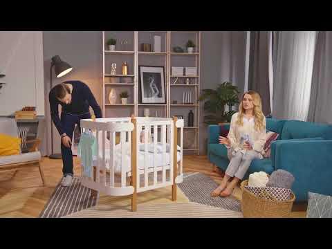 Happy Baby люлька-кроватка MOMMY