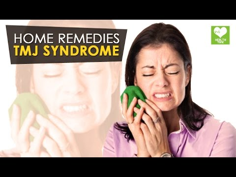 Video TMJ Syndrome - Home Remedies | Health Tone Tips
