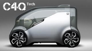 Honda NeuV  |  Concept a mini electric car 2017