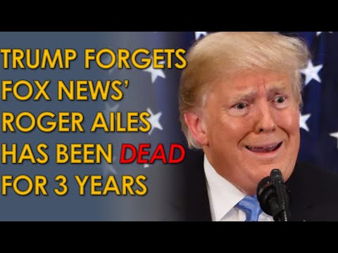 Donald Trump tells Roger Ailes to fire Donna Brazile, even though he's been Dead for three years