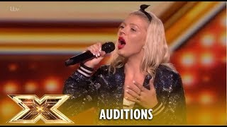 Natasha Boon Amazes The Judges With James Arthur's Impossible! | The X Factor UK 2018