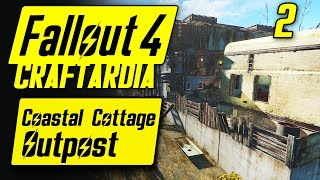 Fallout 4 Coastal Cottage Outpost #2 - Base Building Timelapse - Fallout 4 Settlement Building PC